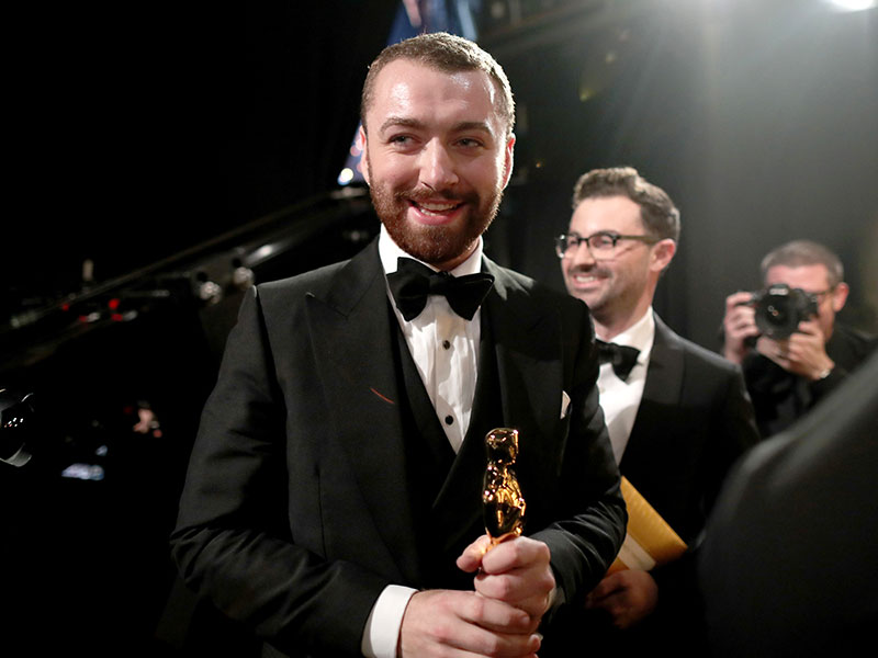 Oscars 2016: Sam Smith Joins List of Gay Academy Award Winners