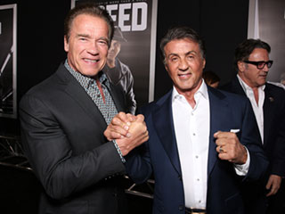 Arnold Schwarzenegger (and a Lot of Other People) Were Sad for Sylvester Stallone When He Didn't Win the Oscar