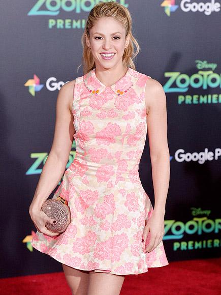 Shakira Talks Zootopia Character, Babies & New Song