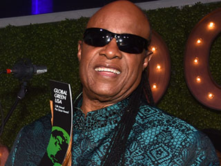 Stevie Wonder Honored with the Global Green Hero Award: 'We Have to Love Our Planet'