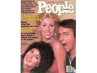 Suzanne Somers Posts Vintage Throwback of PEOPLE Cover
