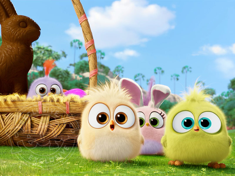 Adorable Alert! Watch the Hatchlings from The Angry Birds Movie Share Their Favorite Easter Memories  Movie News, Bill Hader, Danny McBride, Danny R. McBride, Jason Sudeikis, Maya Rudolph