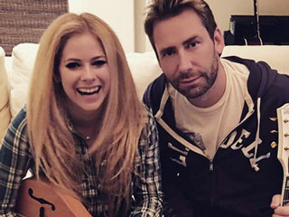 Avril Lavigne and Chad Kroeger Reunite in the Recording Studio