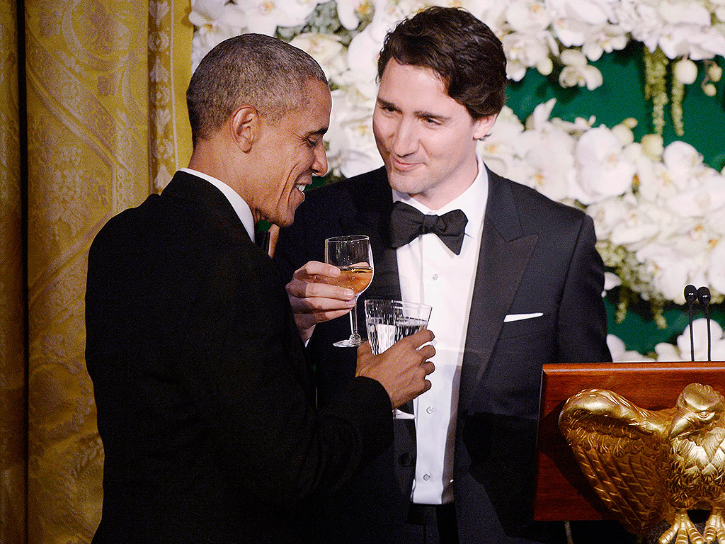 President Obama and Justin Trudeau's Friendship Is a Bromance Without Borders