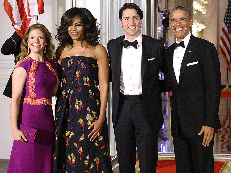 A Bromance Without Borders: President Obama and Canadian Prime Minister Justin Trudeau's Friendship in Photos| politics, Barack Obama, Michelle Obama