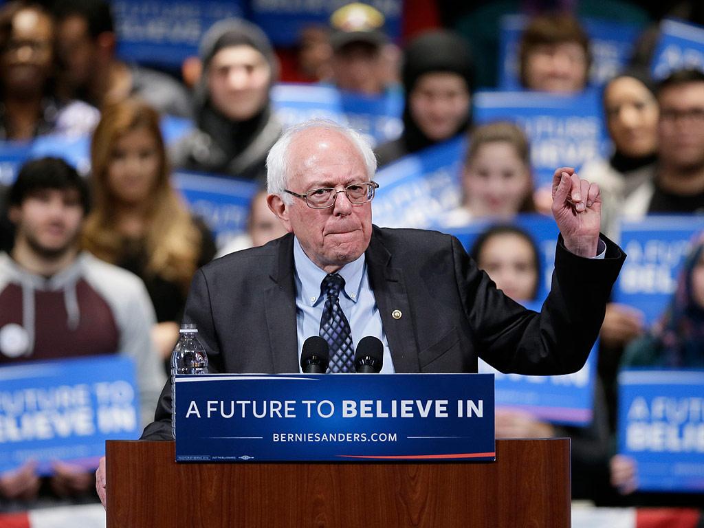 Donald Trump Blames Bernie Sanders for Rally Protestors, Threatens to Send His Own  2016 Presidential Elections, politics, Donald Trump
