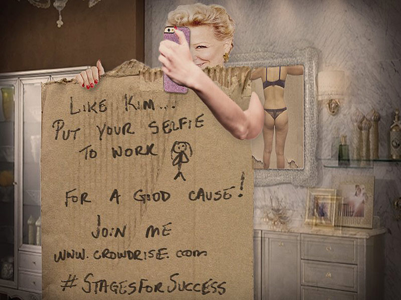 Bette Midler Challenges Kim Kardashian Over Her Naked Selfie