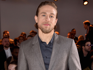 Charlie Hunnam Takes the 22 Push-Up Challenge to the Next Level