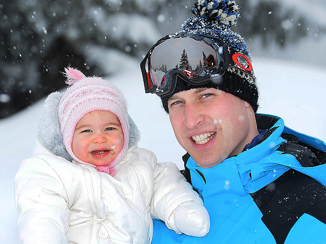 9 Things We Learned from the Royal Family's Adorable Ski Trip Snaps| The British Royals, The Royals, Kate Middleton, Prince George, Prince William, Princess Charlotte