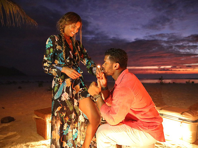 Ciara Is Engaged to Russell Wilson! All Details on the Surprise Proposal| Couples, Engagements, People Scoop, Ciara, Russell Wilson