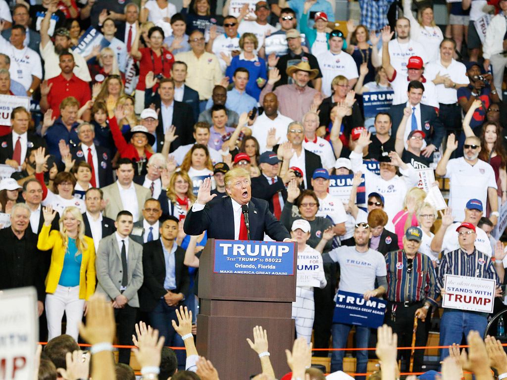 Donald Trump's Loyalty Pledge Draws Hitler Comparisons