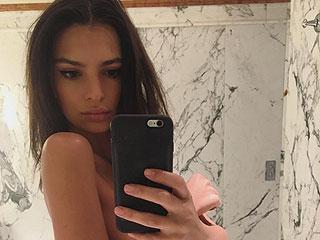 Selfie Solidarity! Kim Kardashian Sent Emily Ratajkowski Flowers for Defending Her Nude Photos