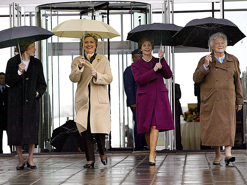 Michelle, Hillary, Laura and Rosalynn: America's First Ladies Will Reunite at Nancy Reagan's Funeral to Lay One of Their Own to Rest| Death, politics, Barbara Bush, Hillary Rodham Clinton, Laura Bush, Michelle Obama, Nancy Reagan, Rosalynn Carter