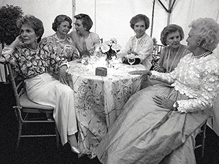 The Story Behind the Photo: Nancy Reagan's Sit-Down with Five Other First Ladies