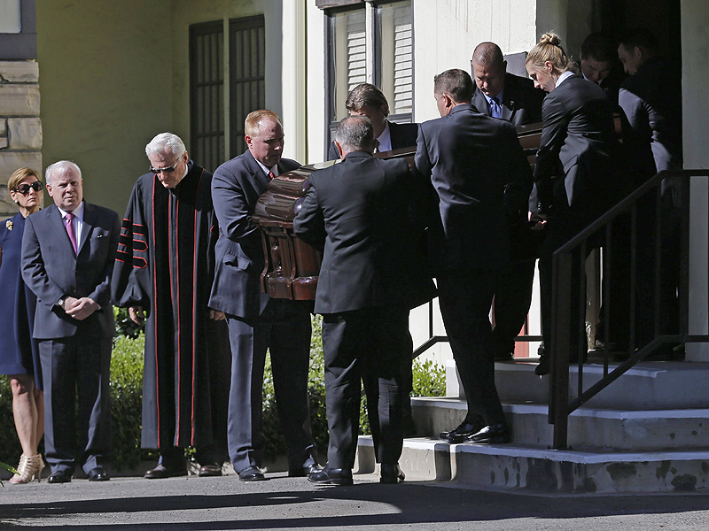 Farewell, Nancy: Former First Lady's Body Transported to Ronald Reagan Presidential Library for Public to Pay Respects  Death, politics, Nancy Reagan