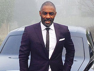 Idris Elba Suits up to Receive Special Honor at Buckingham Palace: 'How Does the Boy Look?'