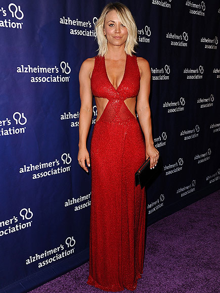 Kaley Cuoco Stuns in Red at Beverly Hills Charity Event – and Wears Skin-Baring Outfit on Stage| The Big Bang Theory, Jim Parsons, Kaley Cuoco-Sweeting, Kunal Nayyar, Mayim Bialik