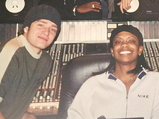 #FlashbackFriday: See Real Housewife Kandi Burruss in the Studio with 'NSYNC