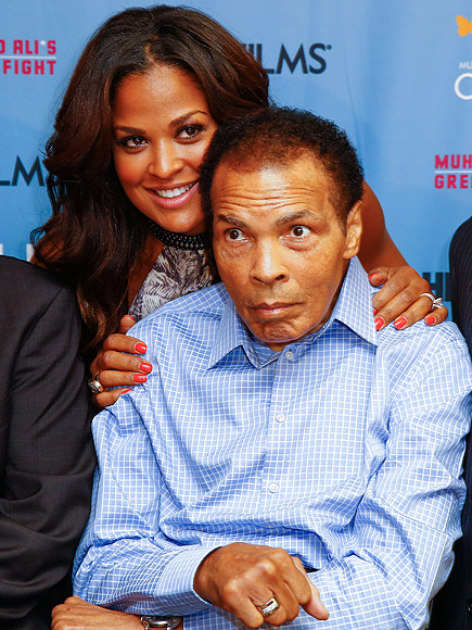 Muhammad Ali Is a 'Fighter, Still' Against Parkinson's Disease, Says Daughter Laila| Sports, Laila Ali, Martin Luther King Jr., Muhammad Ali, Serena Williams