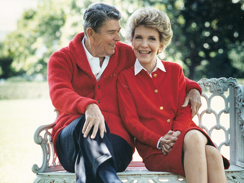 'He Enjoyed Just Being There with Her': Inside Nancy and Ronald Reagan's Sweet and Long-lasting Romance| Death, Nancy Reagan, Ronald Reagan