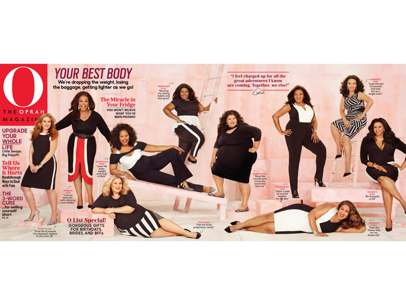 Oprah Shows Off Her Weight Loss Progress on the Latest Cover of O Magazine| Diet & Fitness, Diets, Fitness, Fitness & Health Fads, Nutrition, O, Bodywatch, Oprah Winfrey