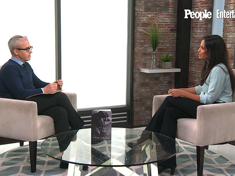 Padma Lakshmi Gets Personal During the Cagle Exercise| TV News, Jess Cagle, Padma Lakshmi