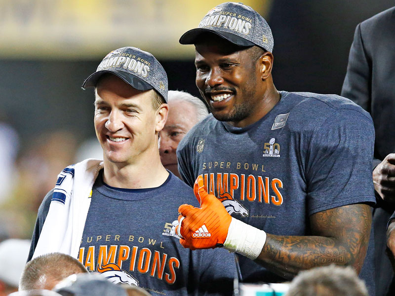 Dancing with the Stars: Von Miller on Peyton Manning Retirement