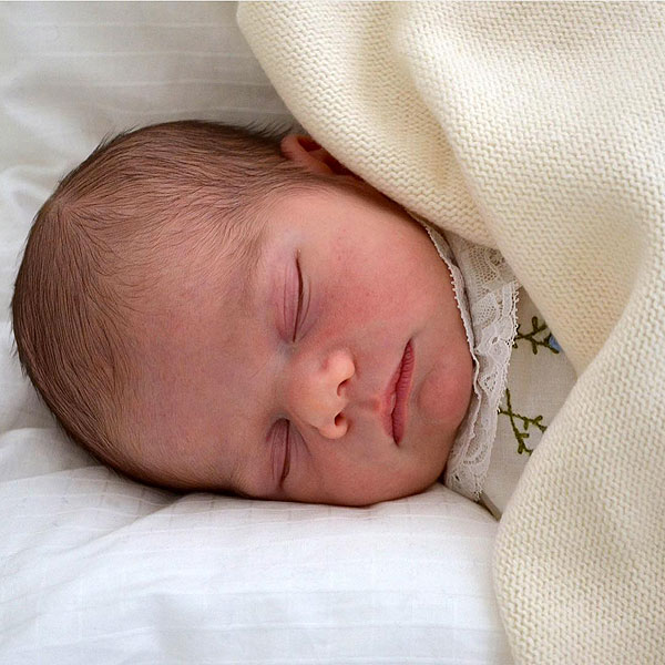 Prince Oscar: First Photo of Royal Baby Revealed