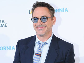 FROM EW: Robert Downey Jr. Slo-Mo Slams a Snow Camera on His 51st Birthday