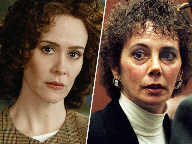 American Crime Story's Sarah Paulson Drank 'a Lot of Tequila' with Marcia Clark: 'It Was Like the Mole Kept Moving All Over Her Face'  Crime & Courts, OJ Simpson Trial, True Crime, American Crime Story, The Ellen DeGeneres Show, People Picks, TV News, Ellen DeGeneres, Marcia Clark, O.J. Simpson, Sarah Paulson
