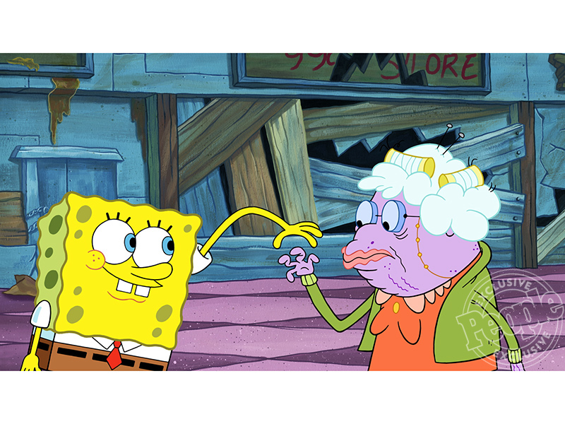VIDEO: See Betty White and Aubrey Plaza as a Grandmother and a Goth in SpongeBob SquarePants!| SpongeBob Squarepants, SpongeBob Squarepants, People Picks, TV News, Aubrey Plaza, Betty White