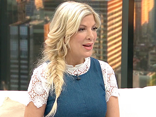 VIDEO: Tori Spelling Doesn't Regret Dyeing Daughter Stella's Hair: 'It Was a Choice I Made' with My Daughter