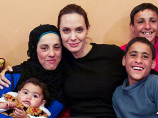 See Angelina Jolie Pitt's Heartfelt Reunion with Teen Syrian Refugee Hala and Her Family