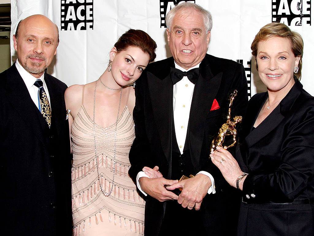 Ready for Royalty: Anne Hathaway and Director Garry Marshall Plan to Make Princess Diaries 3  The Princess Diaries, Movie News, Anne Hathaway, Garry Marshall, Julie Andrews