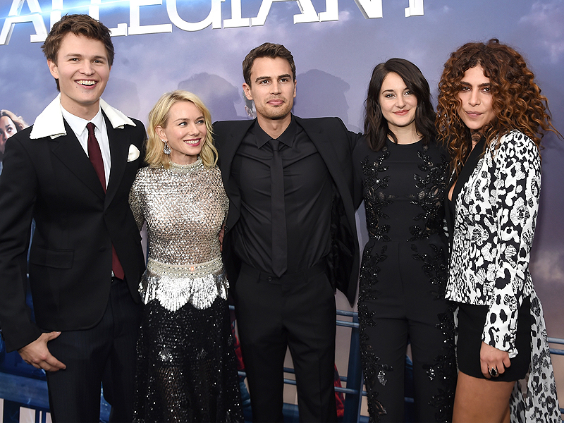 The Cast of The Divergent Series: Allegiant Wish Ansel Elgort a Happy Birthday at New York Premiere| Birthday, Movie News, Ansel Elgort, Maggie Q, Naomi Watts, Shailene Woodley