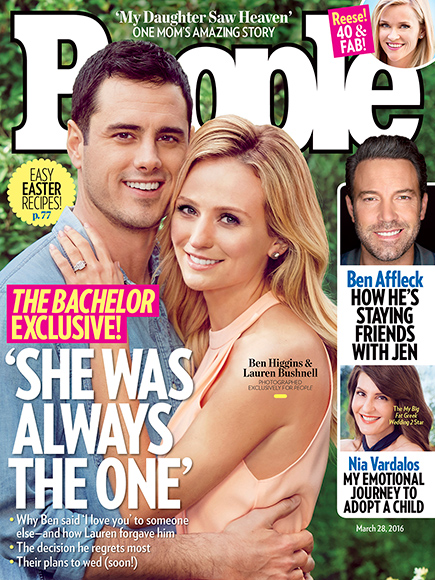 Bachelor Ben Higgins Is Engaged to Lauren Bushnell!| Couples, Engagements, Reality TV, The Bachelor, TV News, Ben Higgins