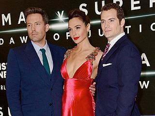 Ben Affleck, Henry Cavill & Batman v Superman Cast Step Out at London Premiere Despite Belgium Terror Attacks