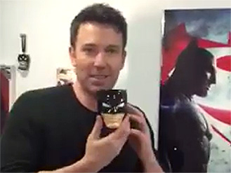 Watch Batman v Superman's Ben Affleck Play a Silly Prank Henry Cavill