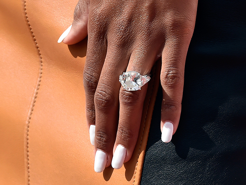 Ciara Flashes Her Huge Engagement Ring During Las Vegas Performance Alongside Fiancé Russell Wilson| Couples, Ciara, Russell Wilson