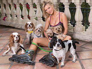 Joanna Krupa Strips Down to Raise Dog Adoption Awareness