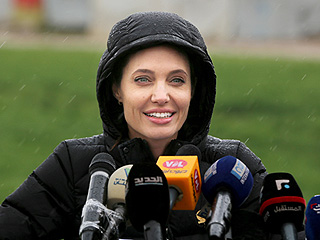 Angelina Jolie Pitt Makes Emotional Visit to Syrian Refugees, Says World 'Must Not Let Fears Get the Better of Us'