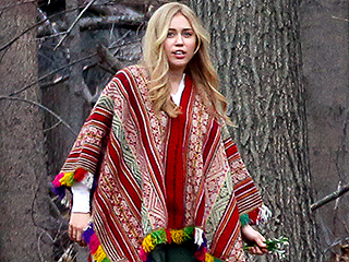 Hannah Montana, Is That You? Miley Cyrus Dons a Long Blonde Wig for Woody Allen's Upcoming TV Series