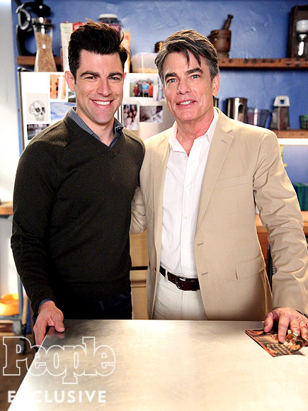 Max Greenfield's Surprising Connection to His New Girl Costar Peter Gallagher| New Girl, People Picks, TV News
