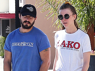 Shia LaBeouf and Mia Goth Step Out in L.A. Amid New Round of Engagement Rumors