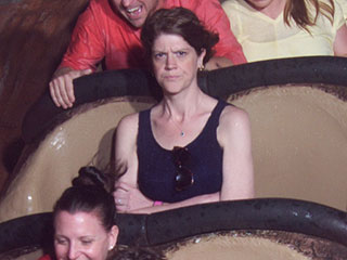 Angry Splash Mountain Mom on Her Internet-Winning Photo: 'I Wanted a Memento of How Annoyed I Was'