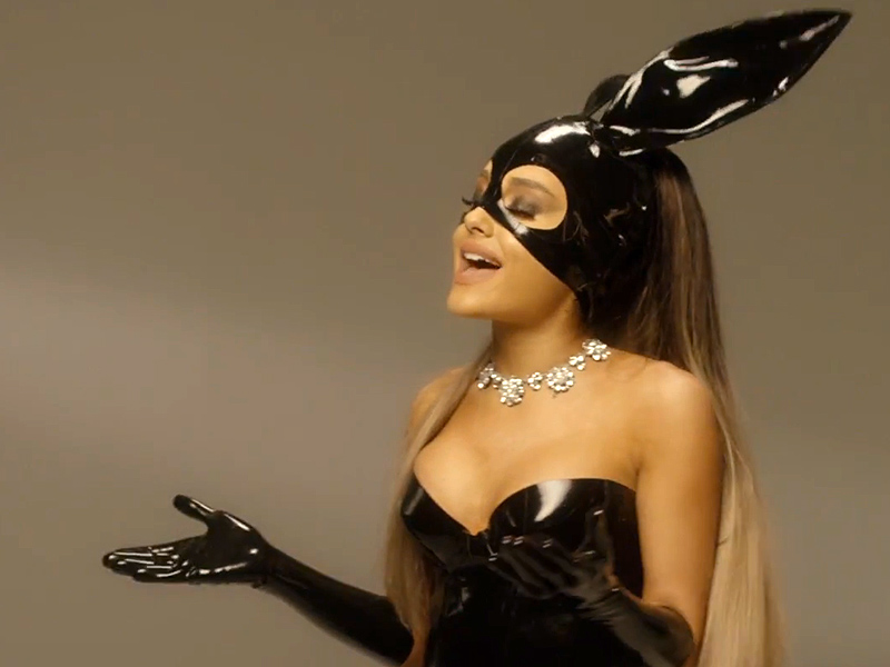 Ariana Grande Releases A Cappella Performance Of