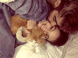 Gigi Hadid Mourns Cat Chub's Death with Kissy Photo with Zayn Malik