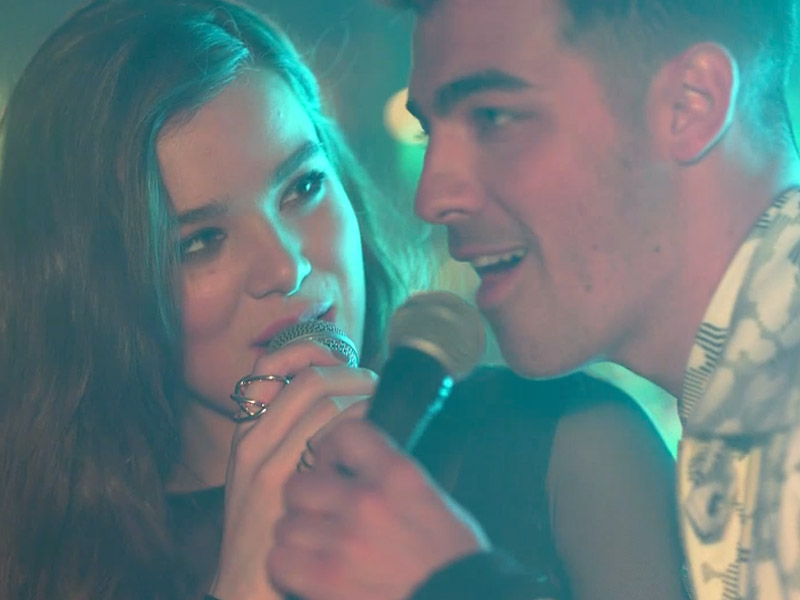FIRST LOOK: Hailee Steinfeld Premieres New 'Rock Bottom' Music Video (Featuring Joe Jonas and DNCE)| Music News, Hailee Steinfeld, Joe Jonas