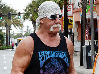 Hulk Hogan Hits the Gym with Wife and Daughter Brooke After Being Awarded $115 Million in Sex Tape Trial