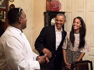 Malia Works as Translator for President Obama During Family's Historic Cuba Trip
